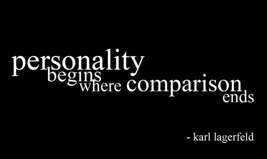 Comparison Personality