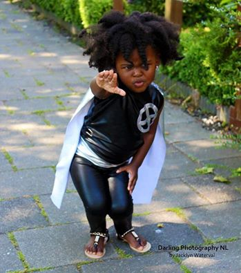 Little Brown Beauty SuperHero